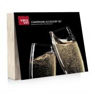 Zestaw akcesoriów do szampana