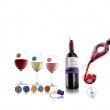Zestaw akcesoriów winiarskich 12 elementów Vacu Vin VV-3889560