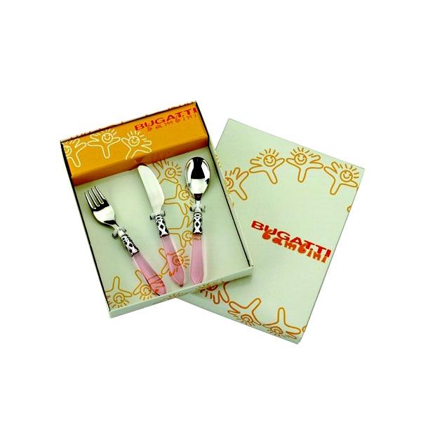 Zestaw dla dziecka Casa Bugatti Aladdin pink 3 częściowy 07-S4223RT