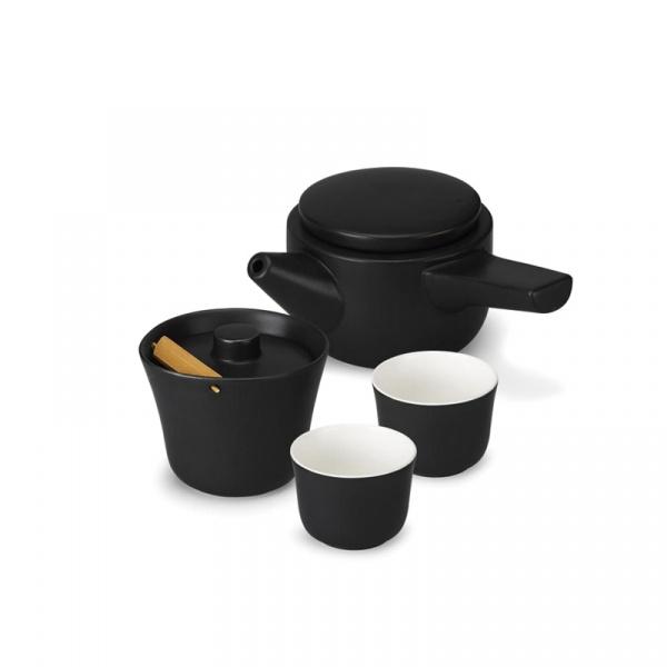 Zestaw do herbaty PO: Evo-Song czarny P14700