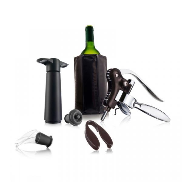 Zestaw do podawania wina dla profesjonalistów Vacu Vin 7 elementów VV-69002606