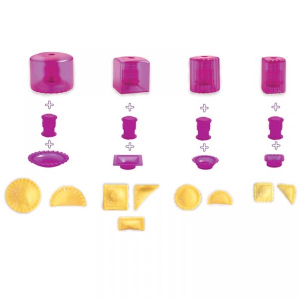 Zestaw do wycinania ciasteczek Mastrad fioletowy MA-F26360