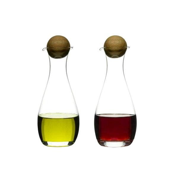 Zestaw dwóch butelek na oliwę i ocet Sagaform SF-5015337