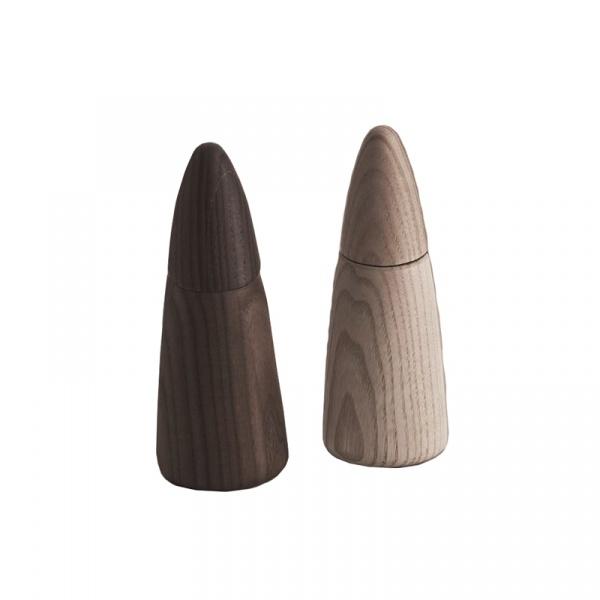 Zestaw dwóch młynków do soli i pieprzu 14,6 cm Legnoart Coppia PM-CO