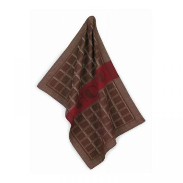 Zestaw dwóch ściereczek Kela Chocolat brązowy KE-11886