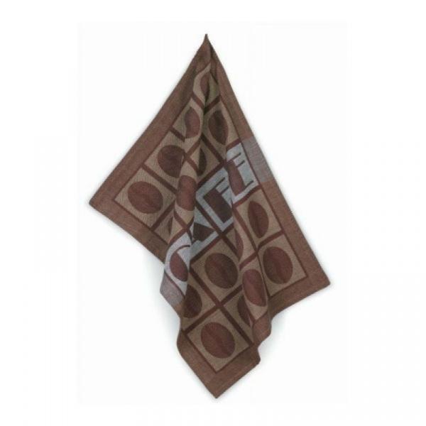 Zestaw dwóch ściereczek Kela Coffee brązowy KE-11885