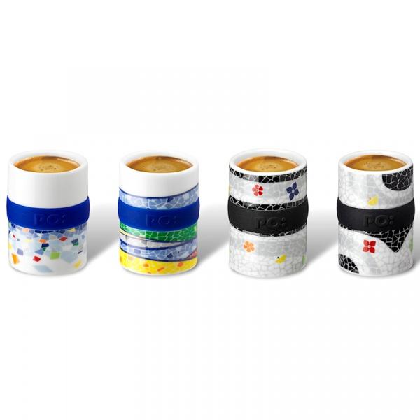 Zestaw filiżanek do espresso 4 szt. PO: Barcelona 14650