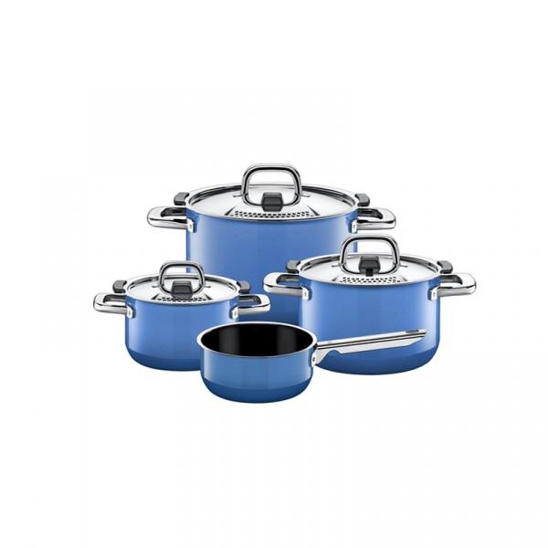 Zestaw garnków z rondlem Silit Nature Blue 1,3 l -6,4 l 21.0929.9523