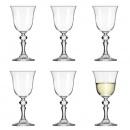 Zestaw kieliszków do białego wina