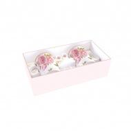 Zestaw kubków porcelanowych 2szt 0,3L Nuova R2S Romantic róże