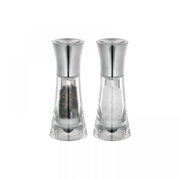 Zestaw młynków do pieprzu i soli 13 cm Kuchenprofi New York KU-3044153800