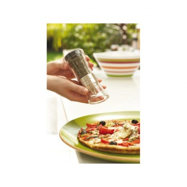 Zestaw młynków do soli i pieprzu Inverta Flip Chrom Cole&Mason przezroczysty