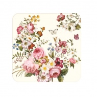 Zestaw podkładek korkowych 6szt 10,5x10,5cm Nuova R2S Blooming Opulence