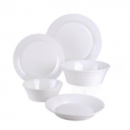 Zestaw porcelany 6/15 Bone China obiadowy Vialli Design Volare