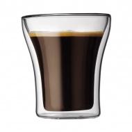 Zestaw termicznych szklanek 0,2l Bodum Assam przezroczysta