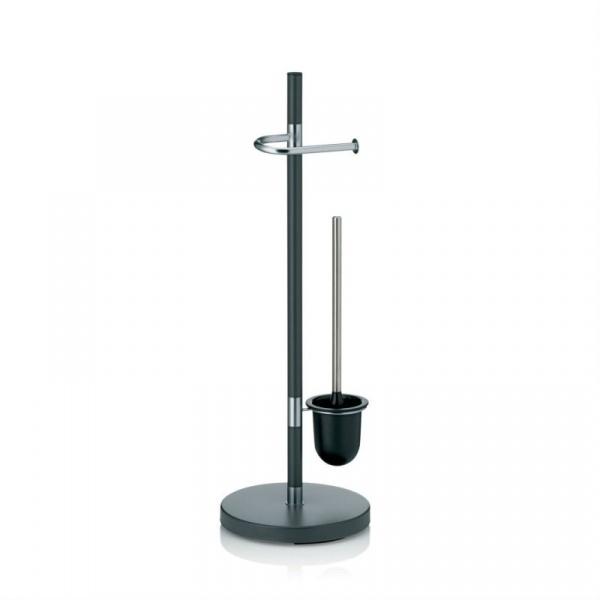 Zestaw toaletowy Kela Sinerio antracytowy KE-22231